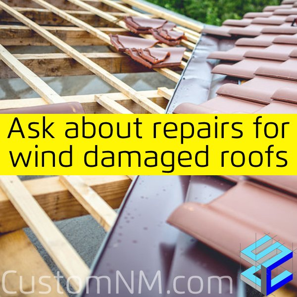 Repair Wind Damaged Roofs