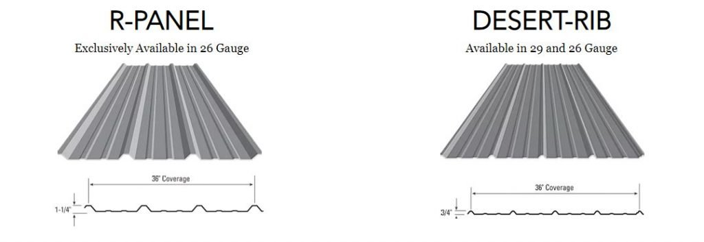 Roofing-Metal-roof-Profiles